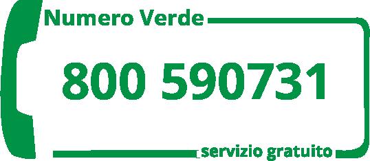 numero verde gratuito 800590731