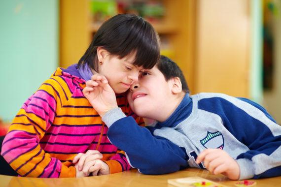 relations between kids with disabilities